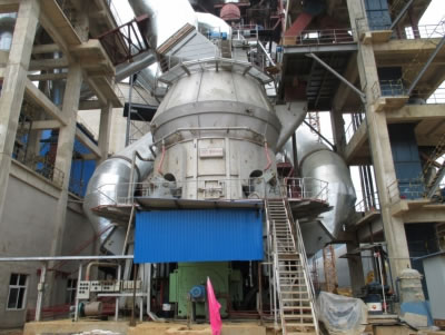 Vertical Roller Mill for Cement Raw Material